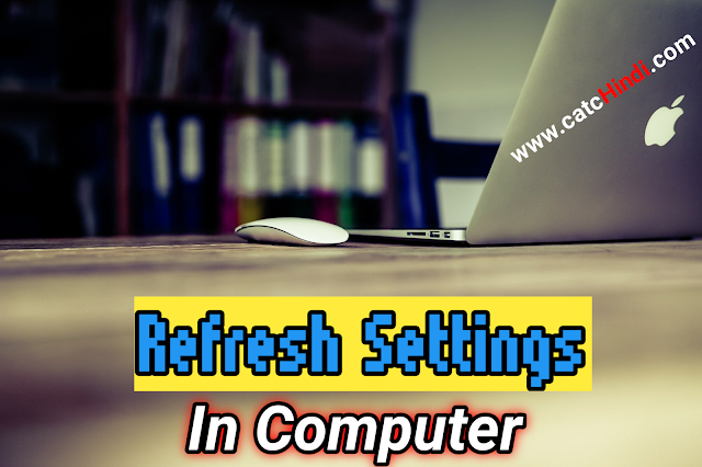Refresh Settings Of Windows 10 Very High Speed Laptop Or Computer |