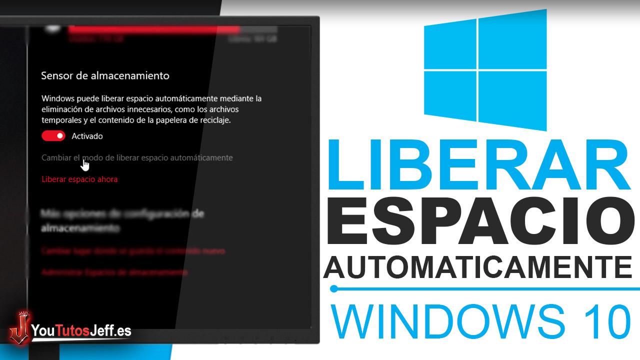 Liberar Espacio Automáticamente Windows 10 - Trucos Windows 10