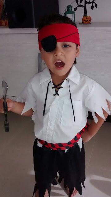 Disfraz casero de Pirata: