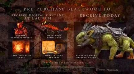 Elder Srolls Online Blackwood Daedra