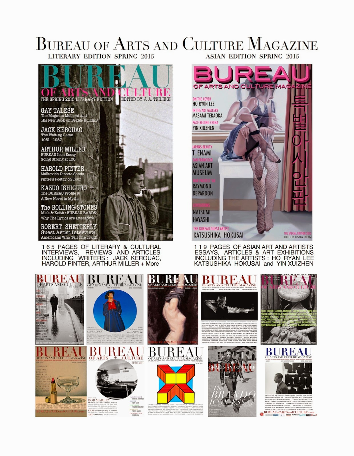 bureau of arts and culture magazine los angeles 2015 all items on this page are only a portion of the magazine