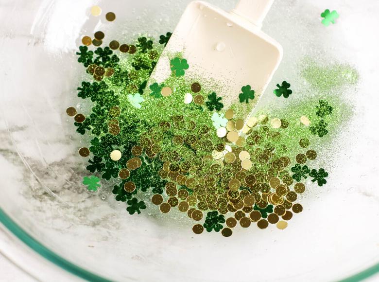 St Patricks Day slime