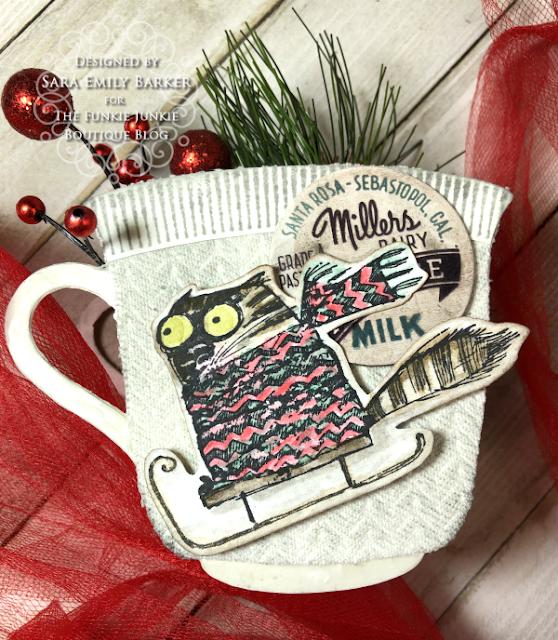 Sara Emily Barker https://sarascloset1.blogspot.com/2020/12/cozy-crazy-tea-cups-for-christmas.html  #eileenhull #3Dteacupandspoon #timholtz #snarkycatchristmas #sizzix #knitted3Dembossing 4