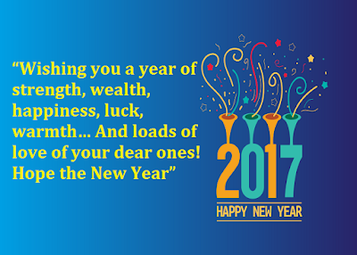 Happy New Year 2017 Best Messages, Greetings Status eCards For Friends ...