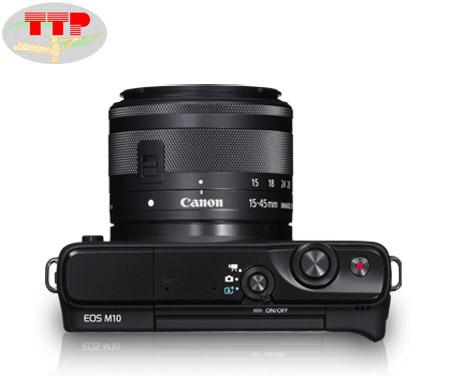 Máy ảnh Canon EOS M10 Kit Lens 15-45 IS STM