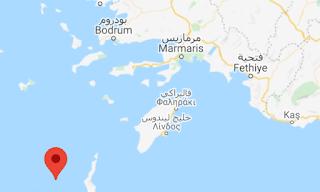 زلزال بقوة 4.3 يضرب البحر المتوسط وأخر بقوة 3.2
