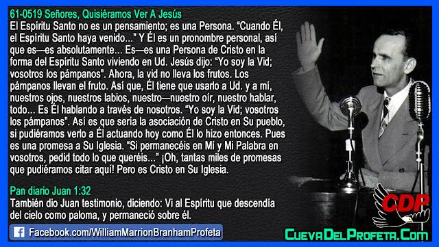 El Espíritu Santo es una Persona - William Branham en Español