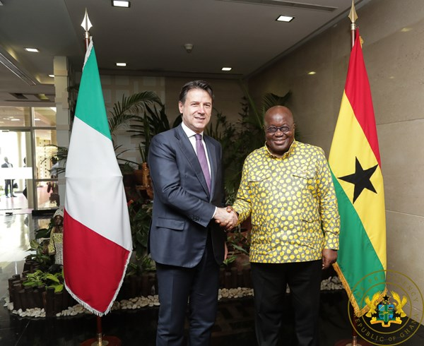 Ghana, Italy Sign MoU On Defense Co-Operation
