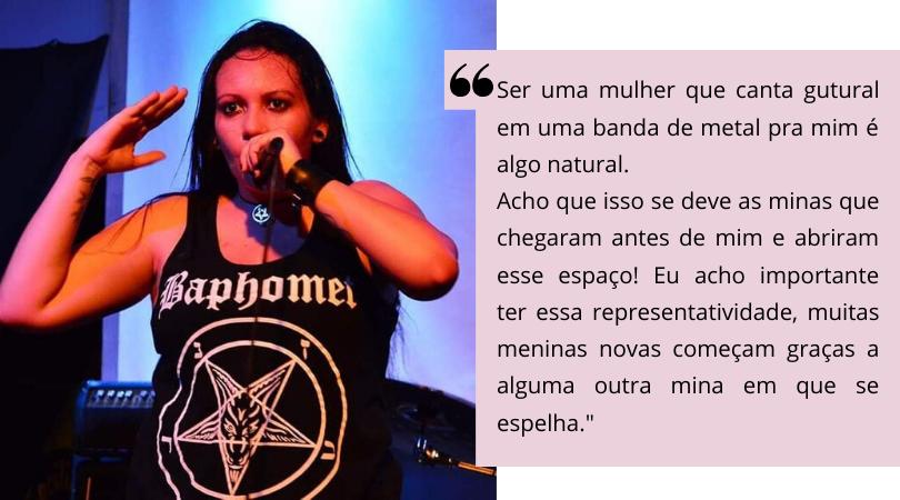DAKHMAS - Entrevista Com A Frontwoman Any Scarlet