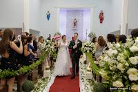 Casamento Silvia e Carlos em Paróquia Bom Pastor - Suzano - SP; Orquestra Matrimonial; Chácara Torres - Poá; Banda Supra Sumo; Capricho's Buffet
