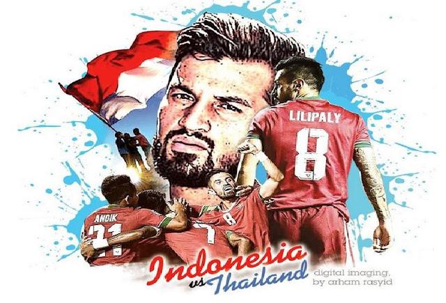 Kocak!!.... YANG TERSISA DARI LAGA FINAL AFF 2016, INDONESIA vs THAILAND