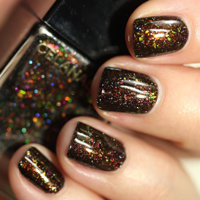 Celanaste Masquerade swatch nail polish