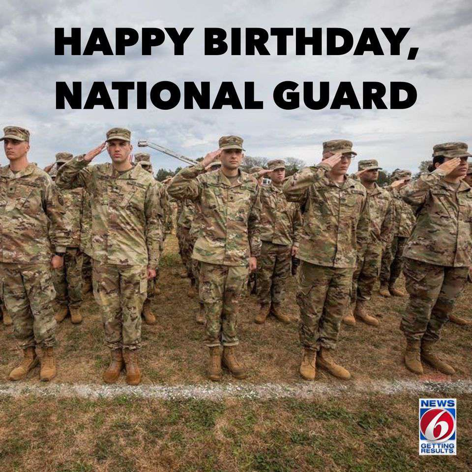 U.S. National Guard Birthday Wishes Images
