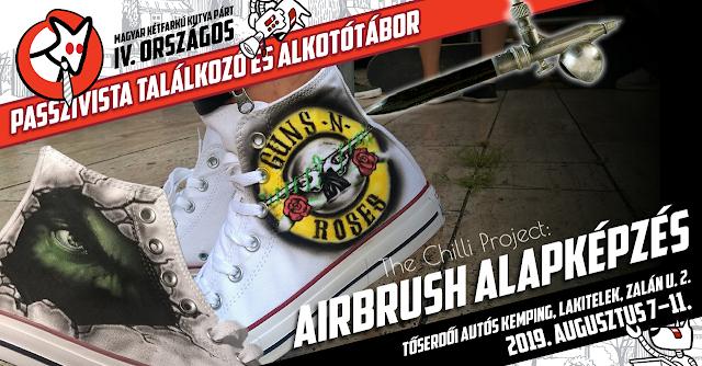 Airbrush alapképzés