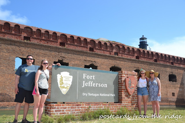 Afternoon with the family at Dry Tortugas National Park, Florida Keys