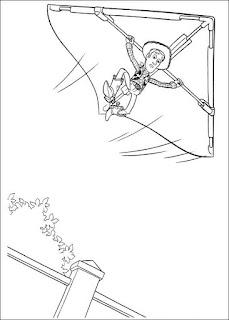 Ausmalbilder Toy Story 3 zum Ausdrucken