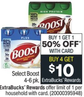 Boost Nutritional Drinks