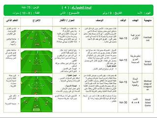 وحدة تدريبية تقنية للاعبي كرة القدم  فئة 8-10 سنوات