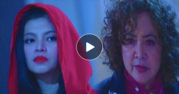 Barang Finally Identified Who Is The Person Behind The Mysterious 'Lady In Red' And Her Reaction Is Priceless!