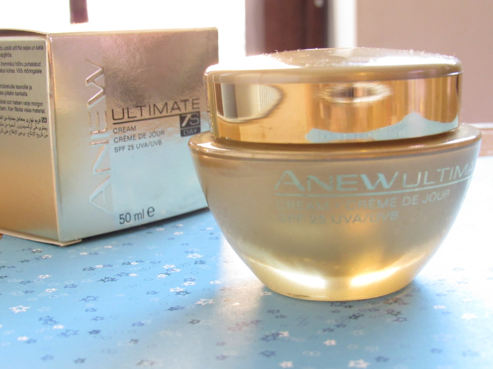 Blooming Fiction, lifestyle blog, Avon ANEW Face Cream