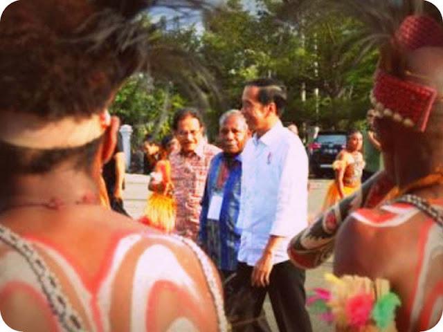 Presiden Jokowi Kunjungi Jayapura dan Asmat