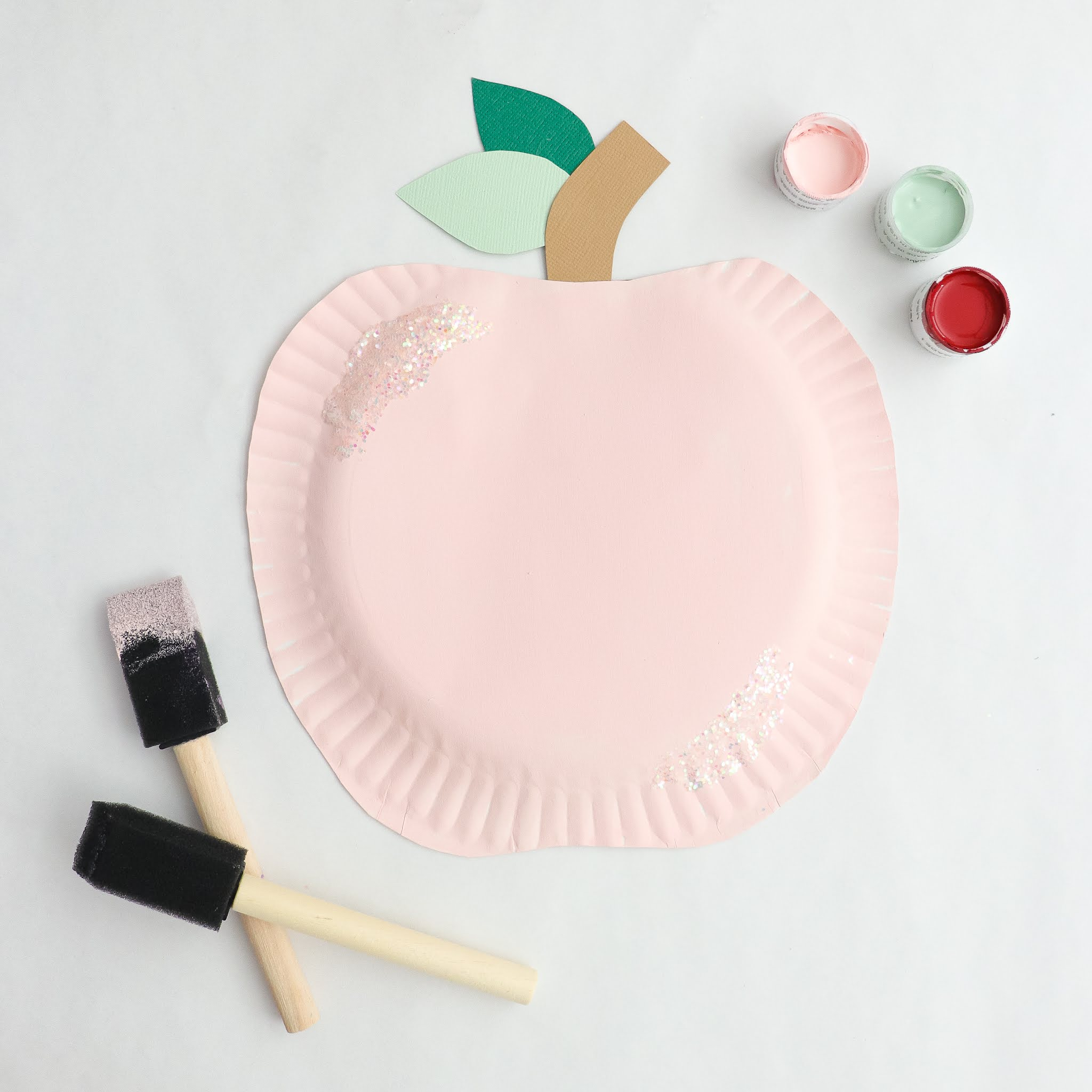 back to school paper plate craft