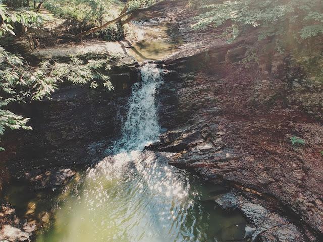 Wodospad w Iwli