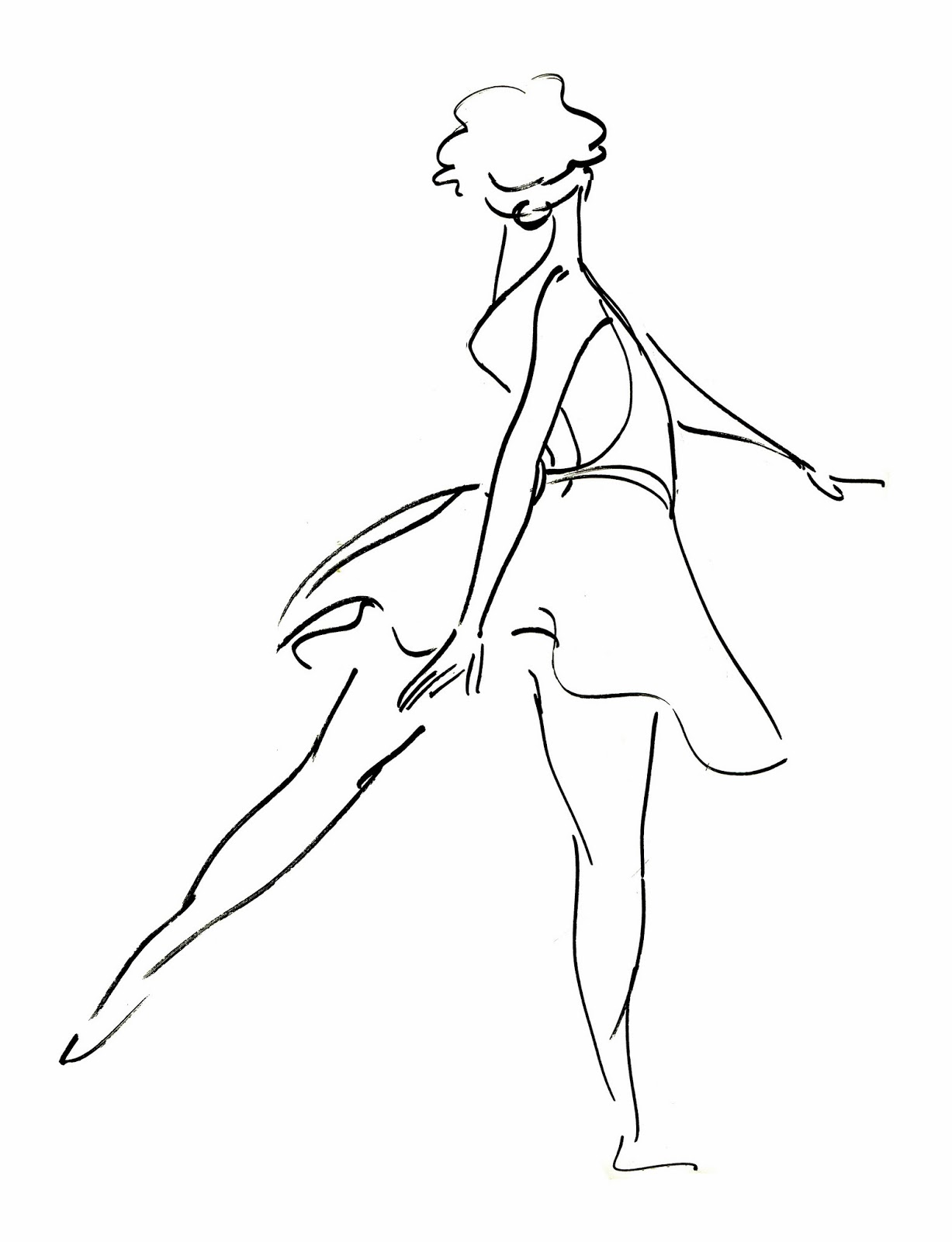 Dancer Drawings