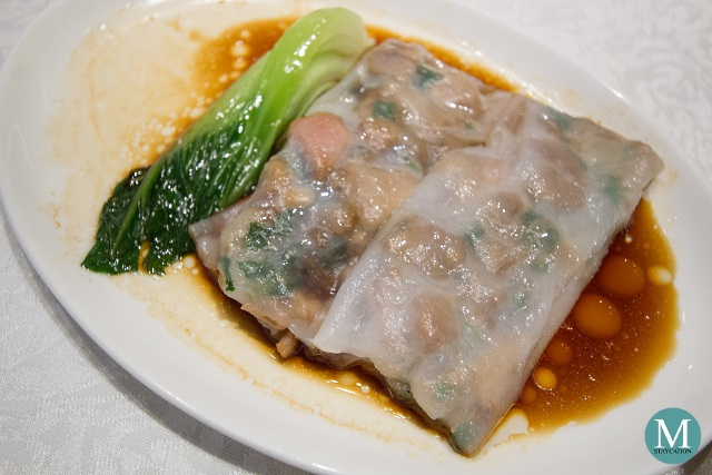 Steamed Rice Noodles Rolls by Shang Palace at Shangri-La Hotel Guilin