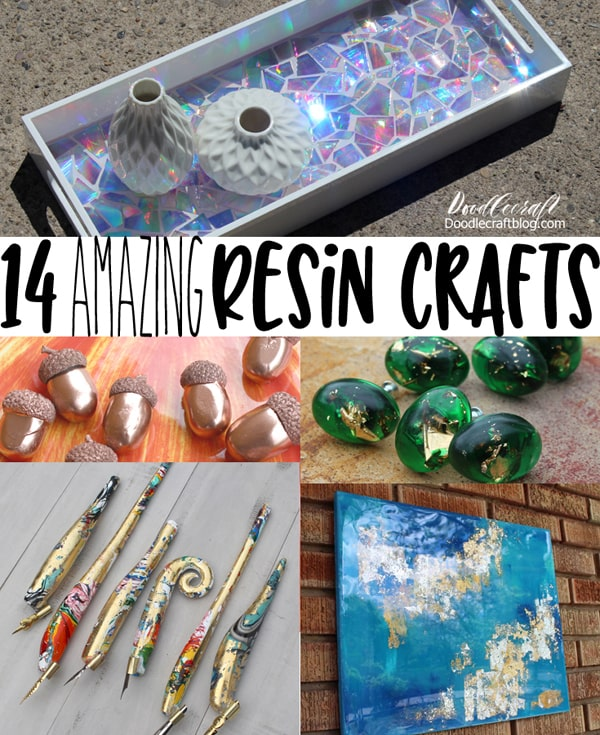14 Amazing Resin Craft Projects to make today, great for beginners too!