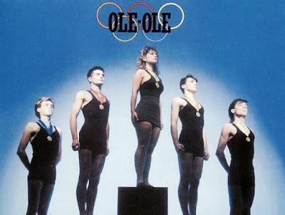 Vicky Larraz en 'Olé Olé'