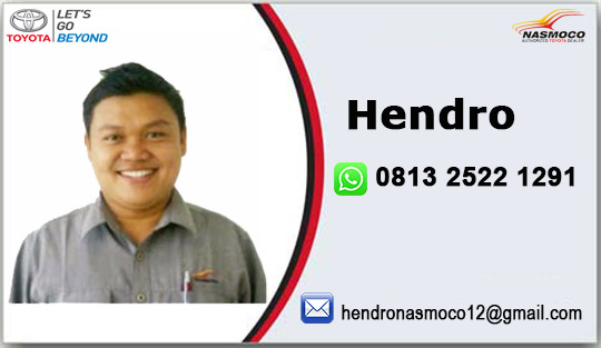Rekomendasi Sales Toyota Nasmoco Genuk Semarang