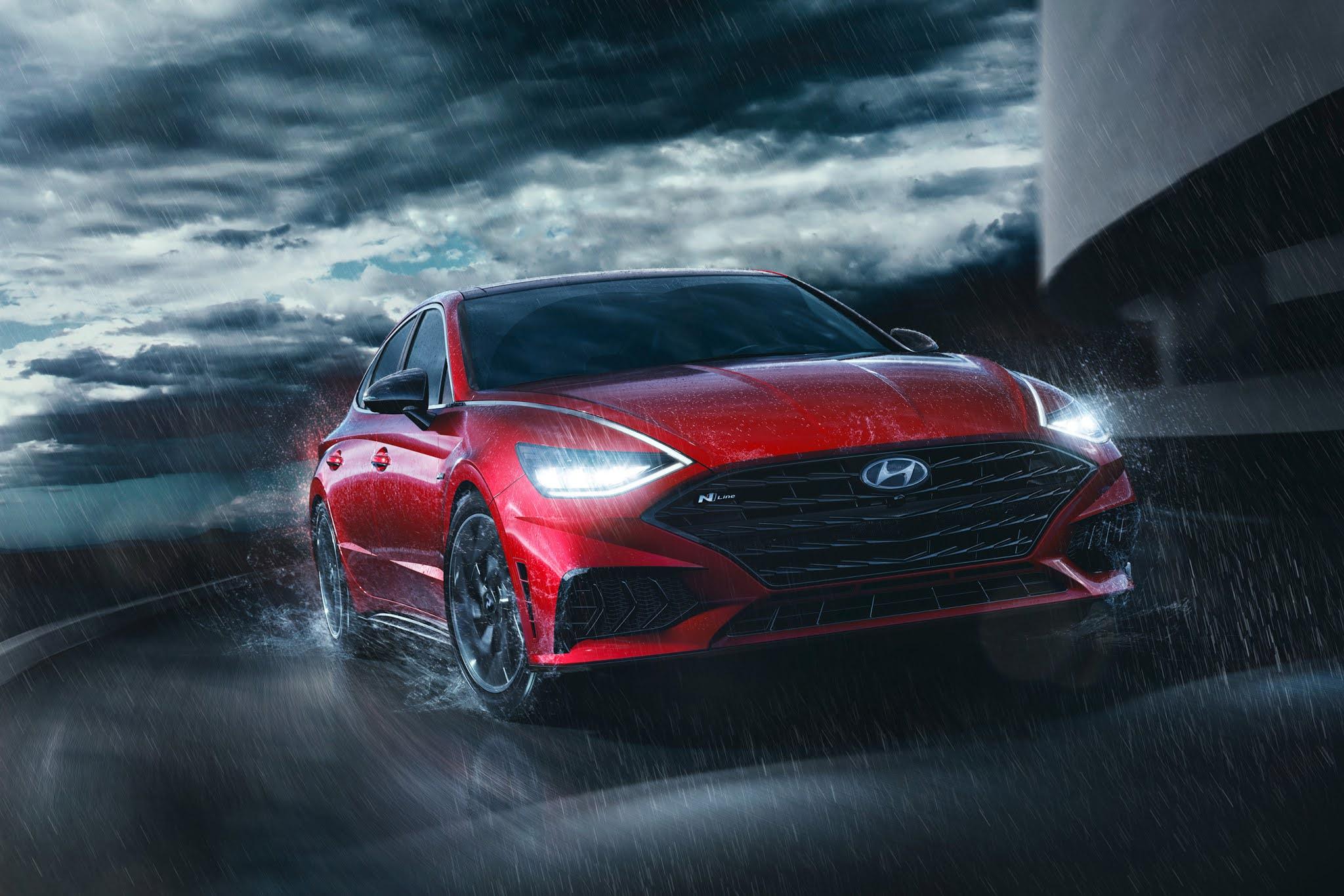 2021 Sonata N Line: Hyundai's Hot New Sedan Gets a High-Performance Look