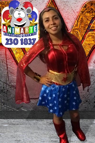 La Mujer Maravilla en tu Fiesta Infantil