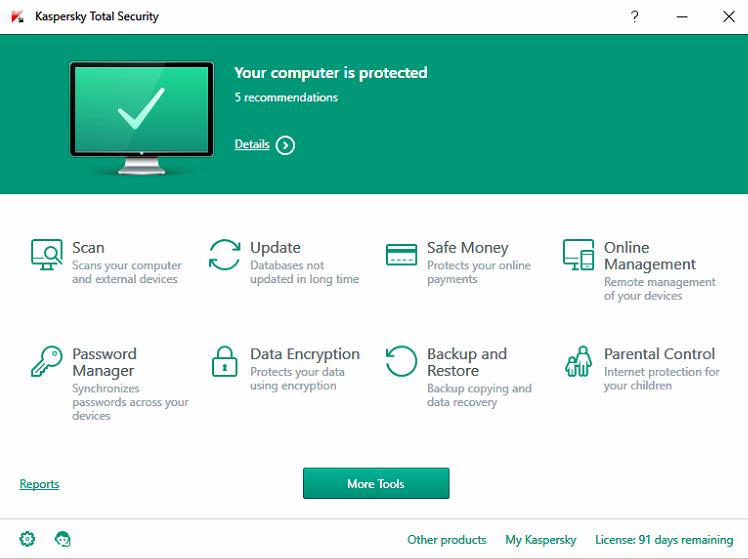 Kaspersky internet security 2017 setup and key file
