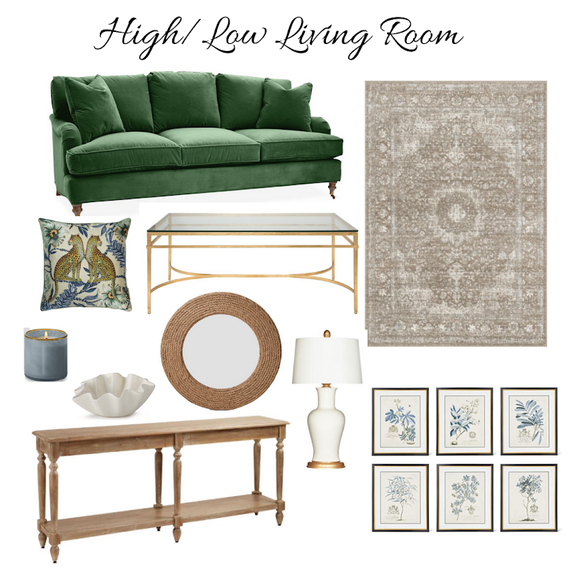 High & Low Living Room Ideas