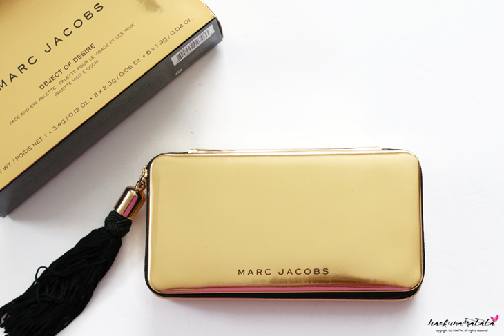 Marc Jacobs Object of Desire Face and Eye Palette Review, Swatches, MOTD