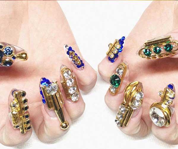 Cute nail Designs Sculptural Styles