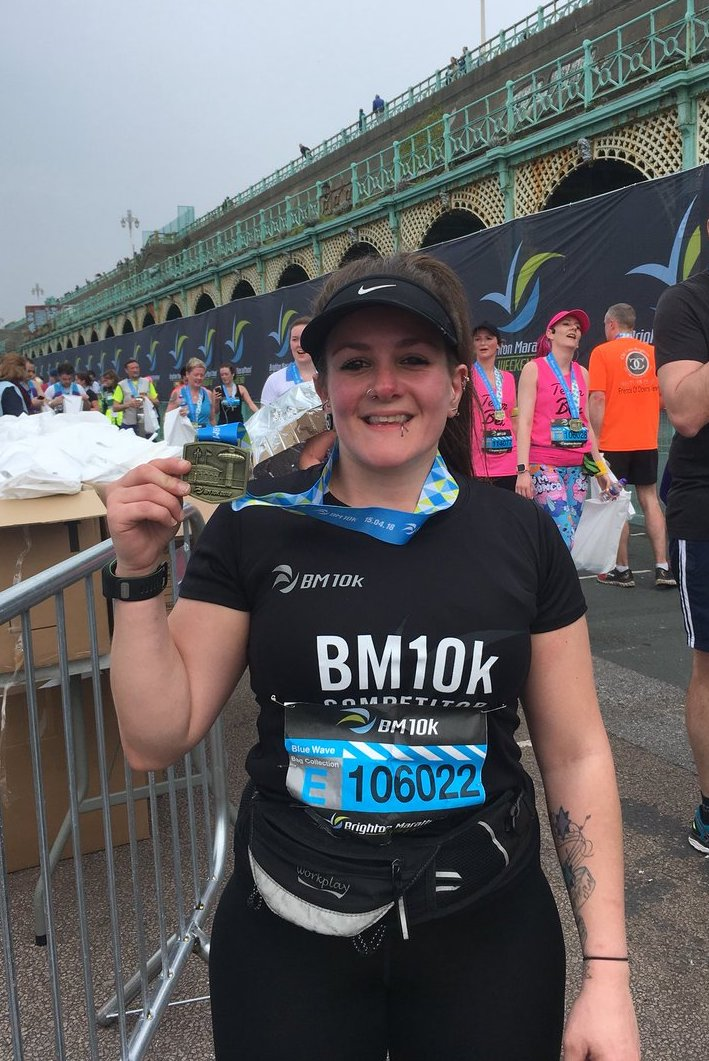 Brighton Marathon Weekend - BM10k review 2018 - Tess Agnew fitness blogger