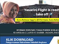 SD Angkasa II Lanud St Sjahrir - Padang, Penerimaan Tenaga Pendidik sd 12 Feb 2019