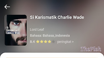 Novel si Karismatik Charlie Wade Bahasa Indonesia pdf