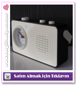 Ses Kaydeden Alarmlı Masa Saati