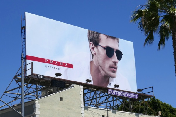 Prada Eyewear Summer 2018 billboard