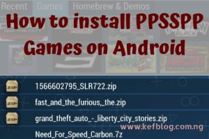 how to play any PPSSPP game