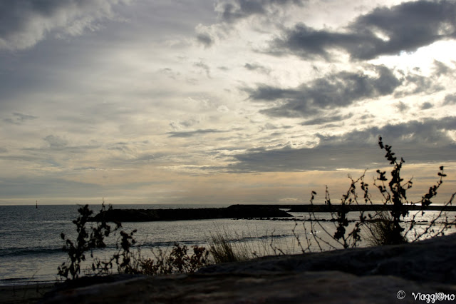 Splendido scorcio sul lungomare di Saintes Maries de la Mer