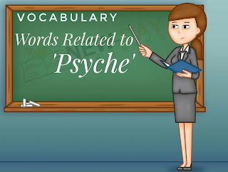 Etymology of English Words | Words Related to 'Psyche'