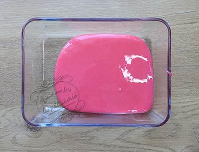 glaçage miroir rose