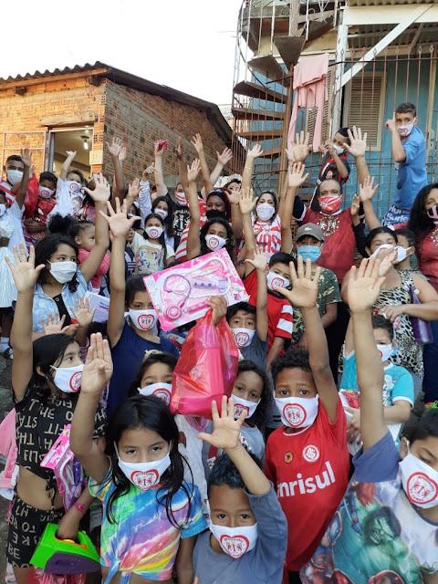 Dia de Brinquedo na Vila Cruzeiro