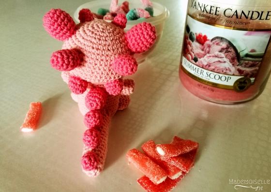 Tutoriel amigurumi - DIY crochet - Petit dinosaure Tagada