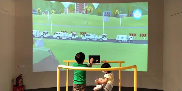 【不開車親子遊記】模擬開車、模擬鑽油的大型機台、體感遊戲等超多互動設施還免費的中油石油探索館
